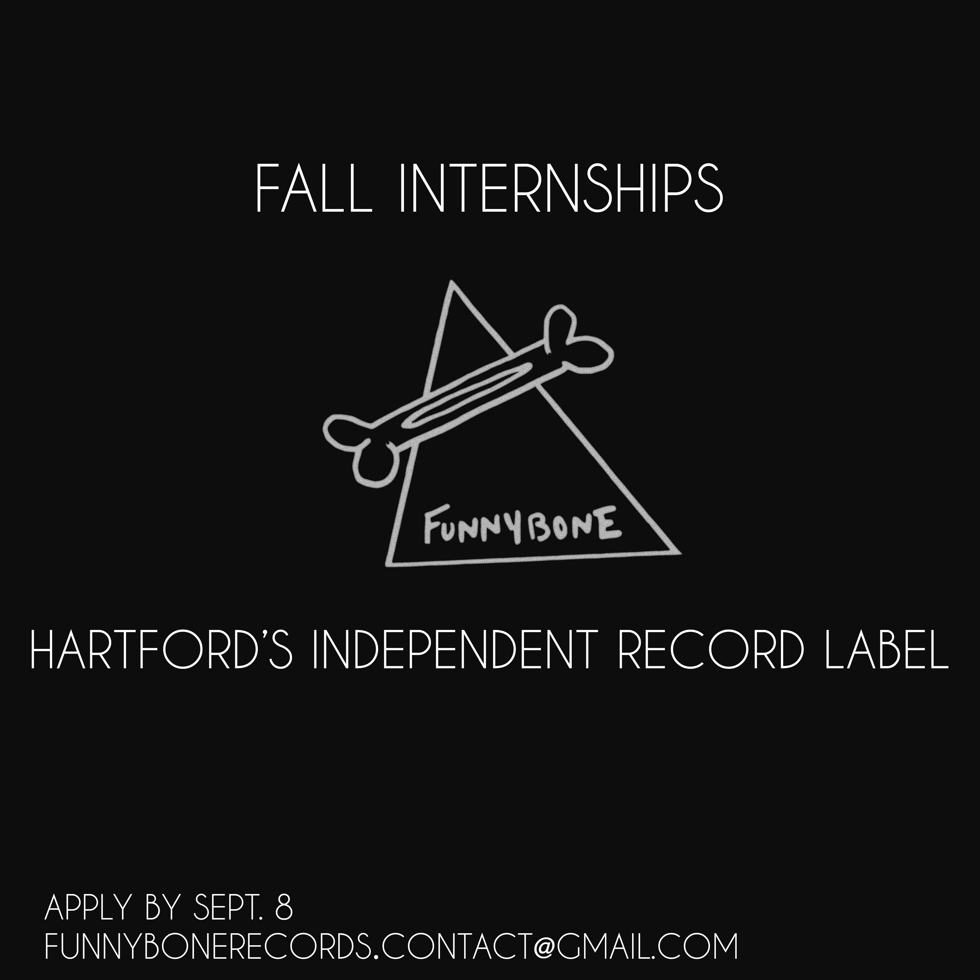funnybone internship poster